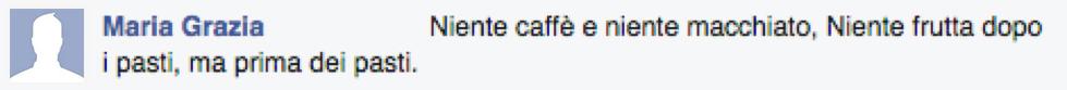 Commento Maria Grazia
