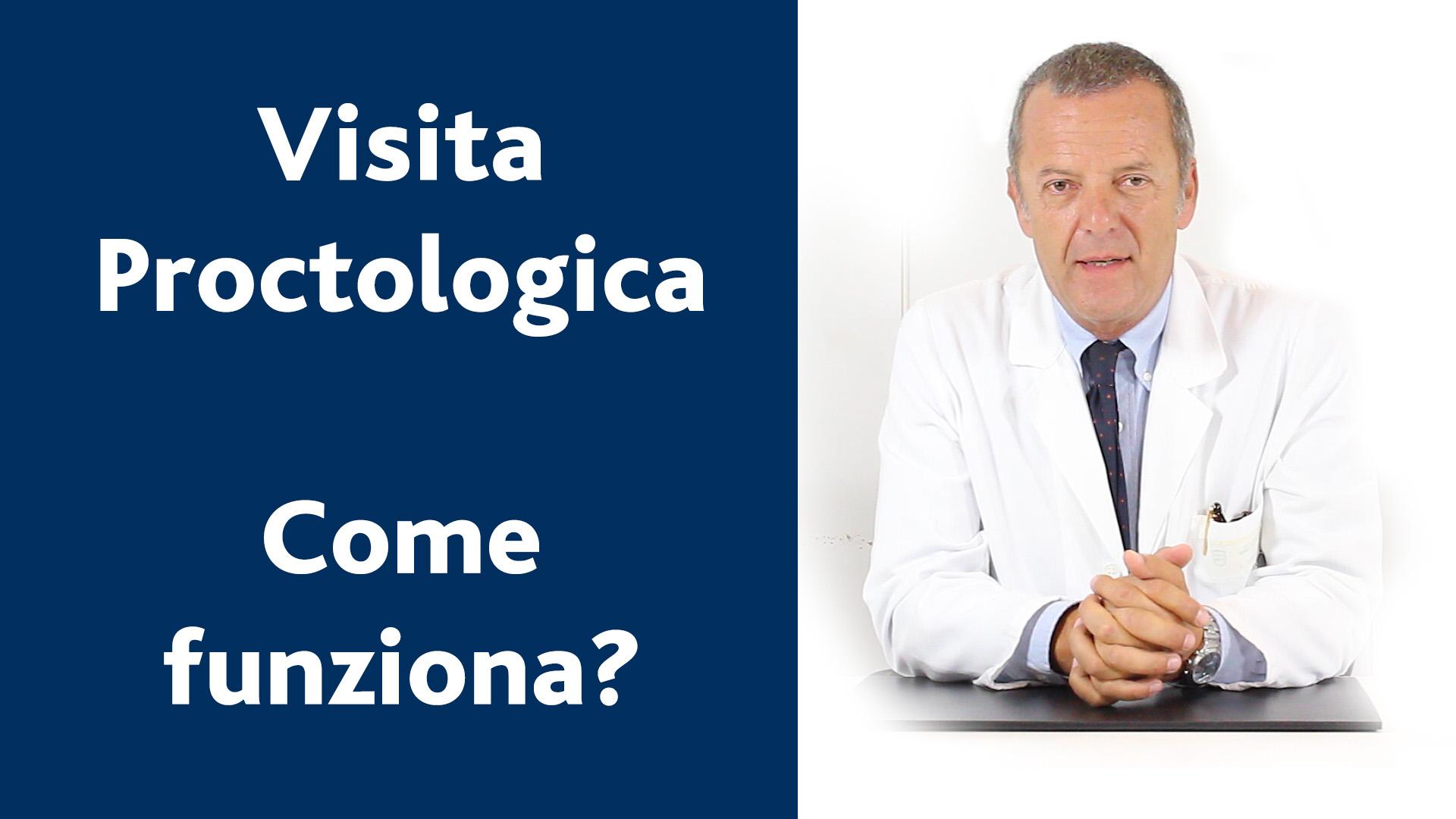 Come funziona una visita proctologica?
